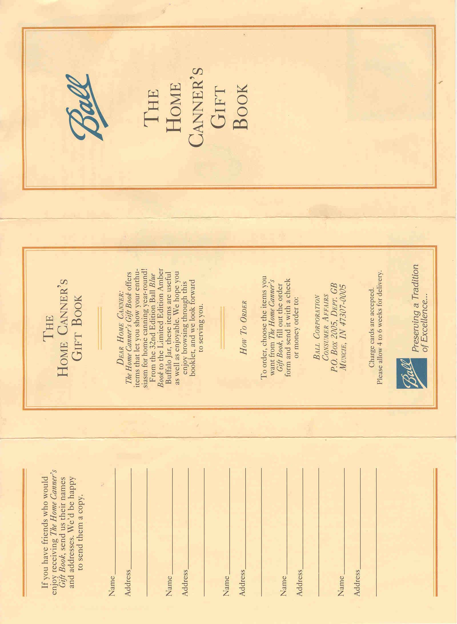 Cashier's Check Ball Canning Literature How To Fill Out